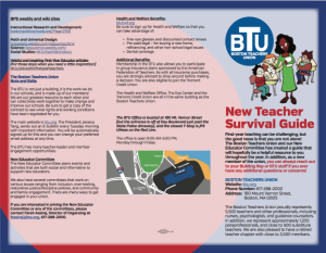 Image of BTU 2017 New Teacher Survival Guide