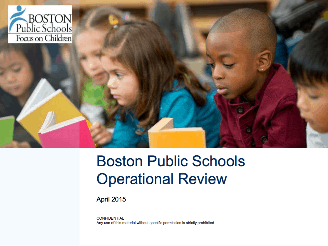 McKinsey Report | Boston Teachers Union