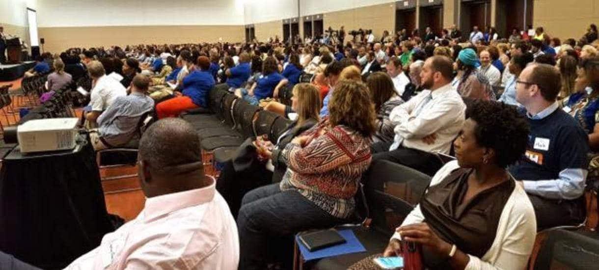 New Teachers Institute at Boston Convention Center 2016