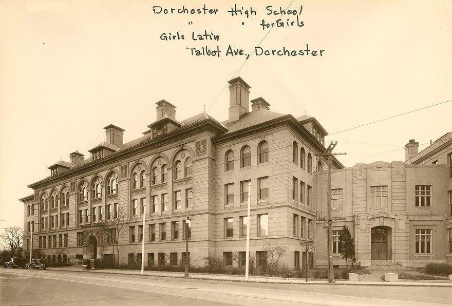 very old photo of codman square school