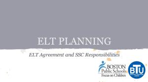 image of ELT presentation