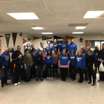 User upload: BTU members at O'Bryant School show their support for a new contract.