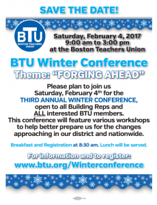 image of 2017 winter conference flyer