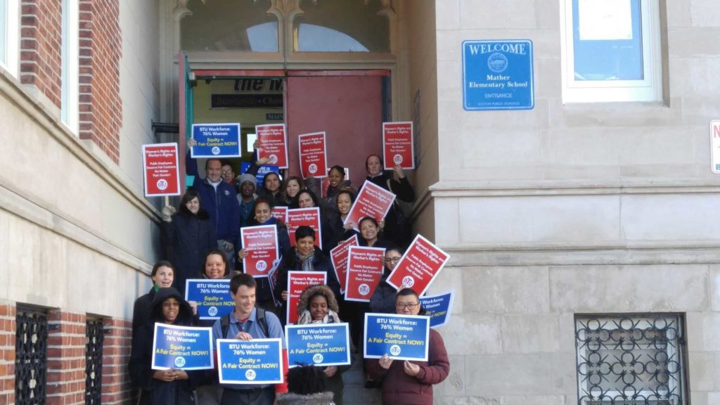 User upload: Mather School Showing Supporting Fair Contract!