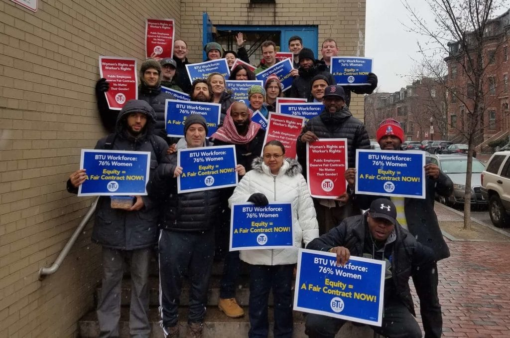 McKinley South End Academy wants a fair and equitable #ContractNow!