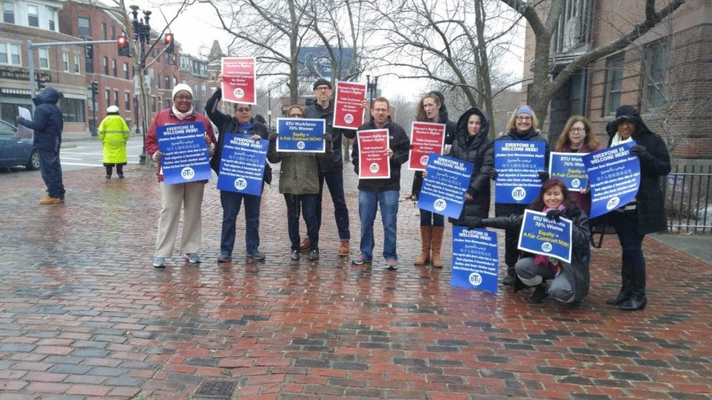 User upload: Timilty MS teachers call for a fair contract