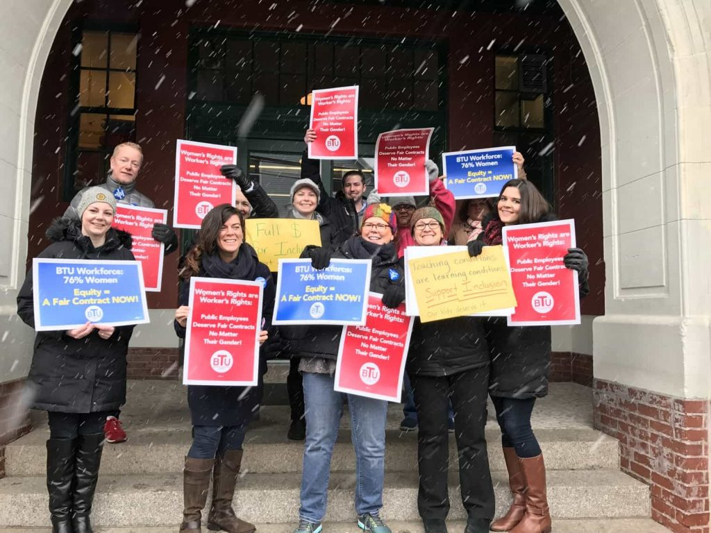 User upload: The Roger Clap School stands united for a fair contract with full support for inclusion!