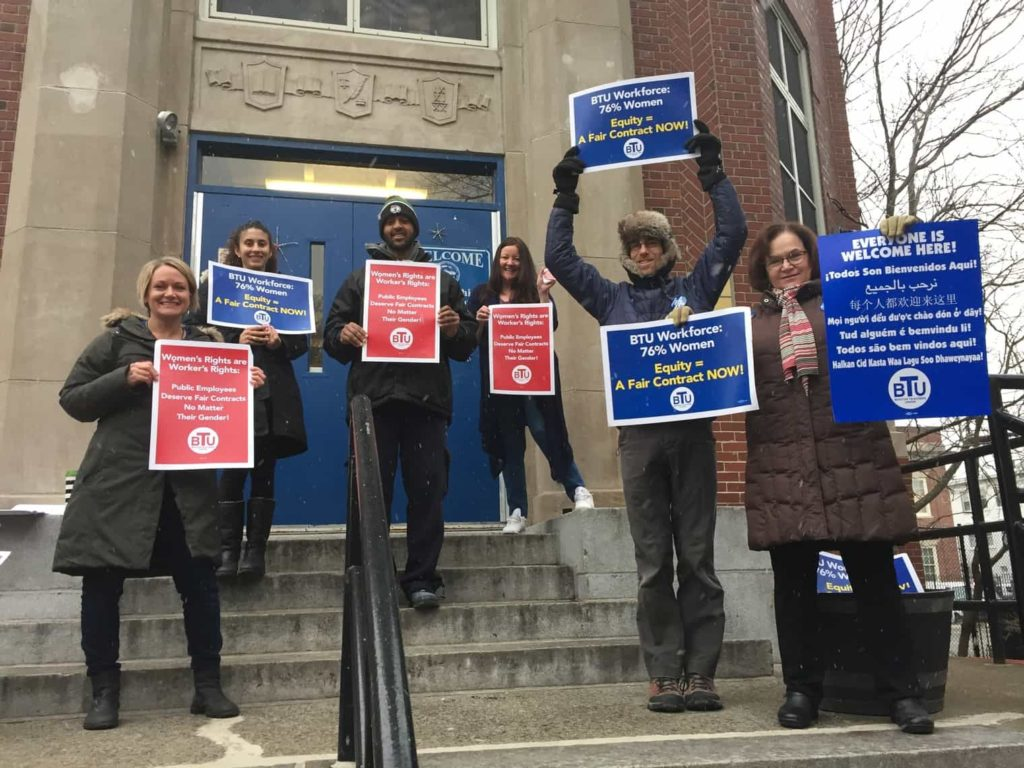 User upload: Small but strong. Alighieri Montessori teachers want a fair contract now!