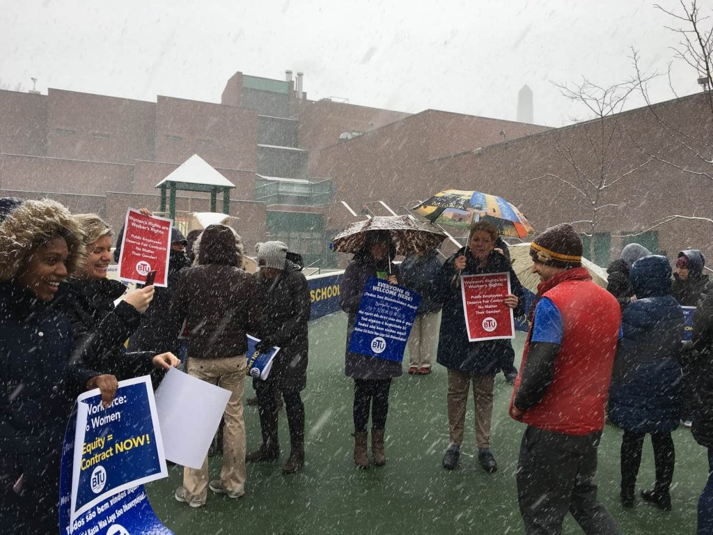 User upload: Harvard/Kent Elementary fighting for a fair #contractnow!