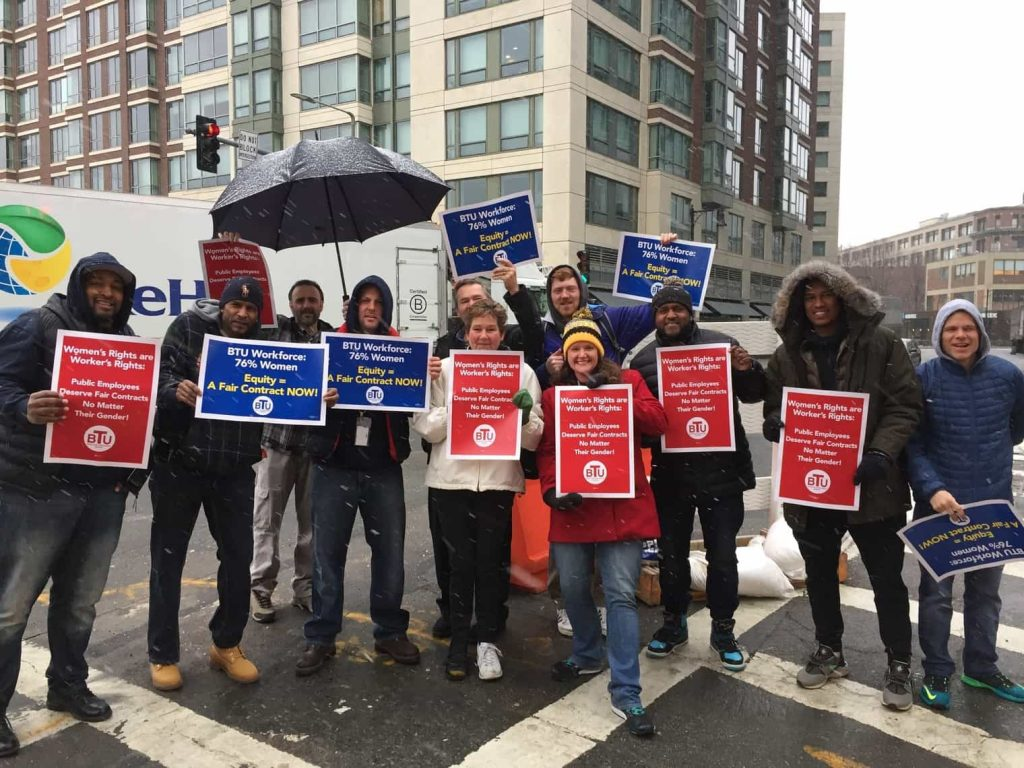User upload: McKinley Prep High School Supports Our Women and Our Union!