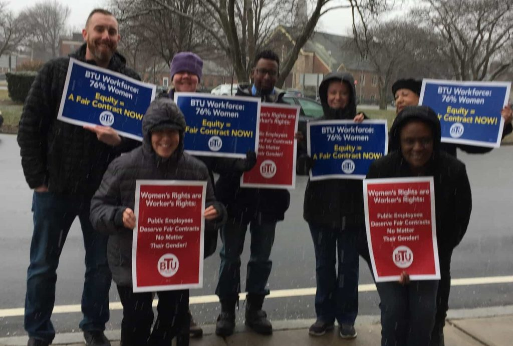 User upload: Michael J. Perkins takes it to the Rotary for a fair contract for students and teachers!!