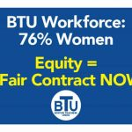 BTU workforce contract badge