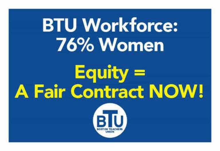 BTU workforce contract badge