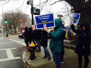 User upload: JFK Elementary demands a #ContractNow!