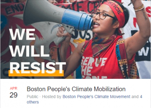 boston climate march event image
