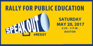 rally for public ed image