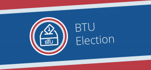 Logo for BTU Election Information