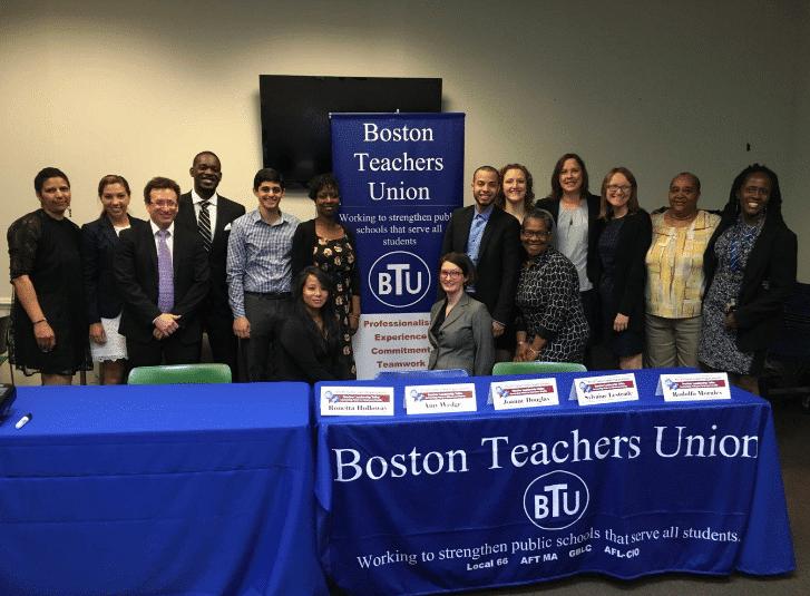 photo showing AFT/BTU Teacher Leader Program