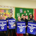 Image of Boston Teachers Union members
