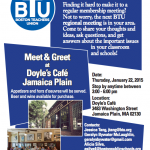 BTU Meet and Greet Poster