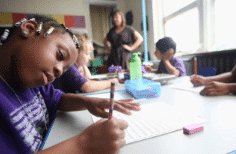 Students at Encore Academy Charter (NY Times)