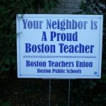btu member yard sign
