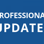 "blue box with text ""professional updates"""