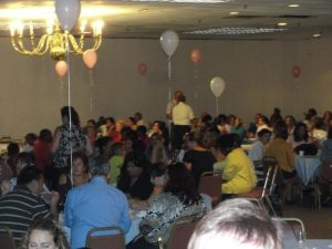 Adults at BTU Party