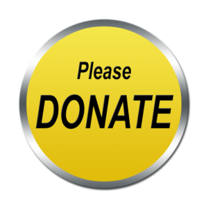 Yellow Button Labeled Please Donate