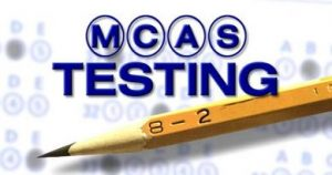 MCAS Testing Bubble Sheet And Pencil