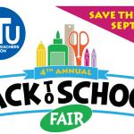 Back to School Fair flyer (partial)