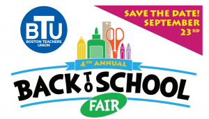 Back to School Fair flyer (partial)