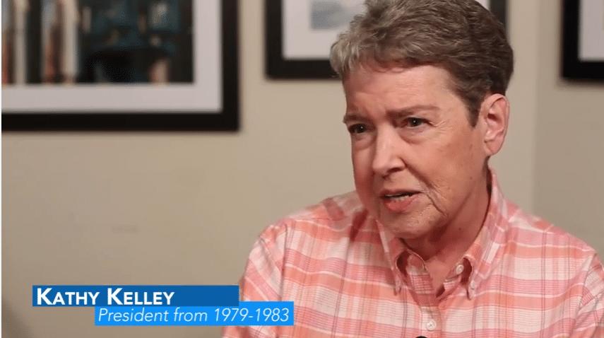 Kathy Kelley in 2016 BTU History video