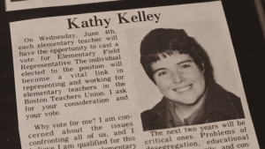 Kathy Kelley in BTU Newspaper