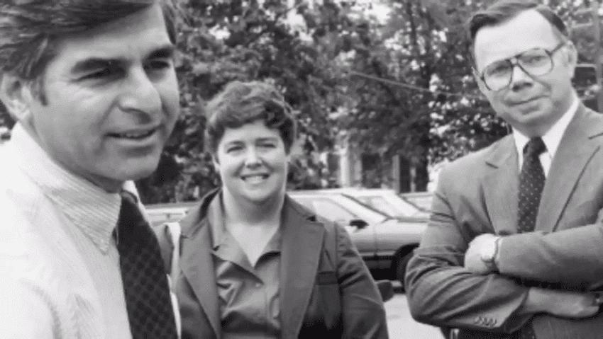 Michael Dukakis and Kathy Kelley