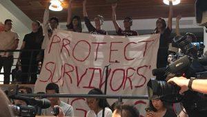 Education Secretary DeVos Meets Silent Protests At Harvard