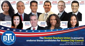 2017 BTU Endorsed Candidates