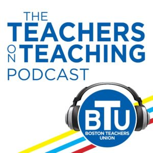 Logo for BTU Teachers are Teaching Podcast