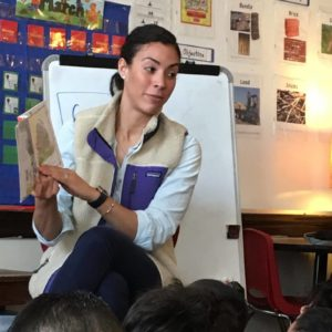 Image of Alana Melendez, K2 inclusion teacher at the Patrick J. Kennedy School in East Boston.