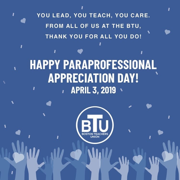 Appreciating our Paraprofessionals, Showing Up in Strength this